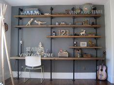 estante ferro e madeira - Pesquisa Google