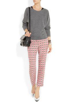 J.Crew | Café tweed Capri pants  | NET-A-PORTER.COM