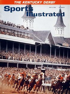 SI's Kentucky Derby Cover, 1965.