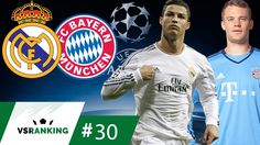 OS 10 MAIORES REAL MADRID x BAYERN DA CHAMPIONS LEAGUE - VSRanking #30