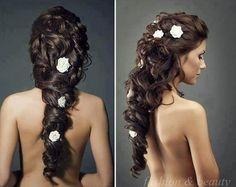 long hair styles for wedding