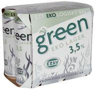 Green EKO Lager 3,5% / Three Hearts Green är en frisk och fyllig lager för dig som uppskattar ett helt naturligt framställt kvalitetsöl. Detta förnämliga KRAV-certifierade öl är som alla våra öl Naturbryggt® på traditionellt sätt direkt till rätt styrka och smak, utan blandning eller vattenspädning. Detta fina öl har en frisk och aromatisk smak med balanserad beska. Serveras vid 8-10°C till husmanskost eller som sällskapsdryck