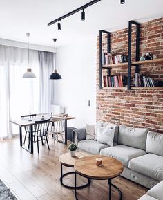 For the second time we are already hosting the interior of in our gallery . Home Living, Living Room Decor, Living Spaces, Nordic Living, Interior Decorating, Interior Design, Scandinavian Home, Living Room Inspiration, Interior Inspiration
