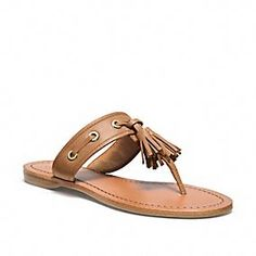 SHEENA SANDAL by coach. doesn't look like any are available. am i too early or too late? cheers, dana