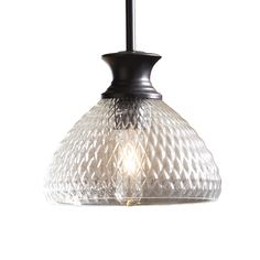 Shop allen + roth Oil-Rubbed Bronze Mini Pendant Light with Textured Shade at Lowes.com this one must be new... it's pretty. $46