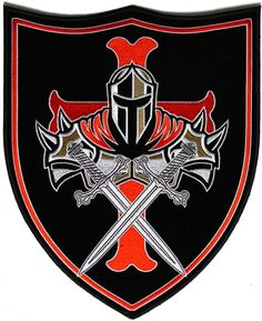 8.5x10.3 inchIron on or Sew on ApplicationPlastic Backing & Die Cut BordersEmbroidered Patch