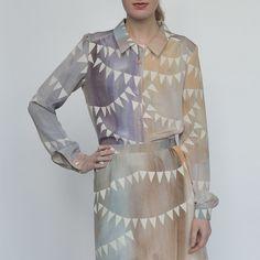 Mrs August - shirt - by SANNE JANSEN