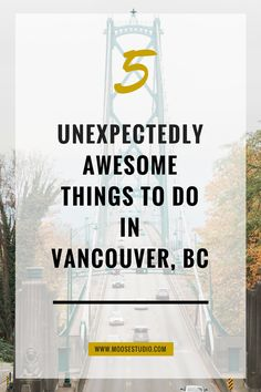 5 Unexpectedly Awesome Things To Do In Vancouver With only 72 hours to explore, we packed in as many things to do as possible in the beautiful city of Vancouver, Canada. Vancouver Vacation, Vancouver Seattle, Vancouver Travel, Vancouver Island, Downtown Vancouver Canada, Vancouver Bars, Visit Vancouver, Alaska Travel, Canada Travel