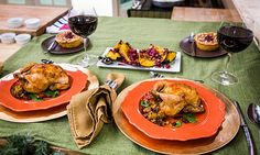 Home & Family - Recipes - Cristina Cooks Thanksgiving Dinner for Two | Hallmark Channel