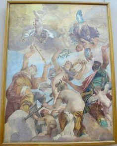 Paolo Veronese, Le sette divinità planetarie, da Palazzo Trevisan a Murano, 1557 ca.