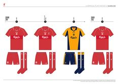 Liverpool FC Kit History, from 1892 to 2020 on Behance Liverpool Kit History, Liverpool Fc Kit, Behance, Logo, Logos, Environmental Print
