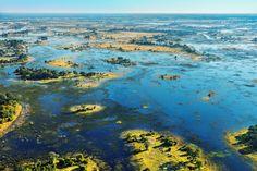 Delta Okavango, Botswana - największa na świecie delta rzeczna