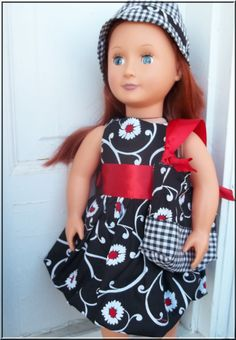 American Girl Clothes 18 Inch Doll Bubble by BarbieBoutiqueBasics