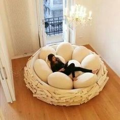 Bed nest..so cool