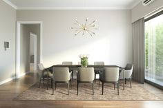 Modern chic luxury dining room - Buy this stock illustration and explore similar illustrations at Adobe Stock Stanton Carpet, Luxury Dining Room, New Homes, Dining Table, Design Inspiration, Modern Luxury, Chic, Adobe, Illustrations