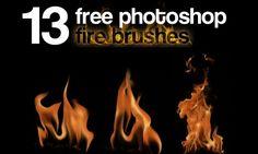 Nino Batitis – 13 Free Photoshop Fire Brushes