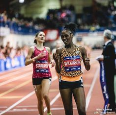 That feeling when you takedown the entire girls mile field in 4:42 at Millrose  . . . . Gabby Willkinson is now No. 3 overall in the #MileSplit50 rankings. Full rankings on MileSplit.com.
