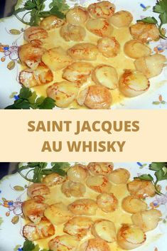 Saint Jacques au whisky – Page 2 Whisky, Saint Jacques, Entrees, Shrimp, Food And Drink, Vegetarian, Meat, Vegetables, Cooking