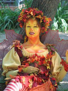 Autumn faerie from the Bristol Renaissance Faire