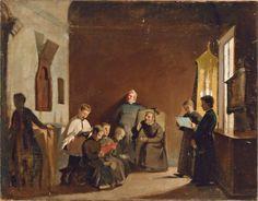 Giuseppe Abbati - Schola cantorum
