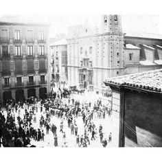 Plaza, Spain, Outdoor, Shopping, Zaragoza, Historical Photos, Old Pictures, Cities, Fotografia