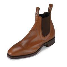 RM Williams Comfort Craftsman Kangaroo Gorgeous Chelsea boot from RM Williams of Australia