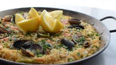 How to Make Seafood Paella  ~ This would work well for those little mixed seafoods  packs you often see in the grocery stores.                                       |  Allrecipes.com