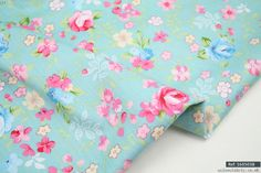 """Quilting Material Floral 100% cotton fabric sold by meter 63""""width [1605038] 