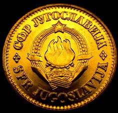 1981 YUGOSLAVIA 20 PARA Uncirculated TORCH COIN in AMAZING SHAPE!