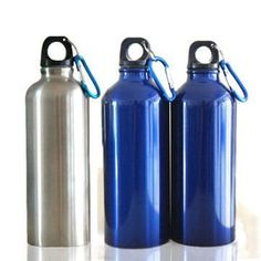 www.lltbottles.com stainless steel water bottle small mouth single wall 18/8 bpa free food grade with carabiner easy taking color and logo customized