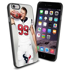 NFL Houston Texan Watt , Cool iPhone 6 Smartphone Case Cover Collector iphone TPU Rubber Case Black Phoneaholic http://www.amazon.com/dp/B00V2UVWQ8/ref=cm_sw_r_pi_dp_LXLnvb0H2H4J1