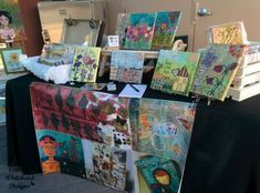 The show season has started here in Phoenix and last night I participated in the Chandler Art Walk in Historic Downtown Chandler. This wonderful show happens the third Friday of every month f… Chandler Arizona, Craft Show Displays, Display Ideas, Mixed Media Tutorials, Art Walk, Must Haves, Concept Art, Things To Sell, Crafts
