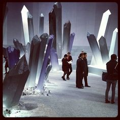 Chanel AW12 show set