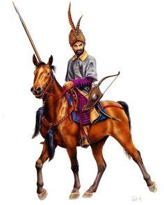 Wallachian cavalryman,  c. 1575