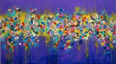 "Saatchi Art Artist Francoise Issaly; Painting, ""The Edge of Perception IV"" #art"