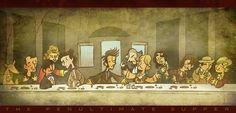 Doctor Who Penultimate Supper