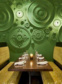 Restaurant and Bar Design Awards - banheiro, cozinha ou quarto da noiva. would look cool in a basement rec room
