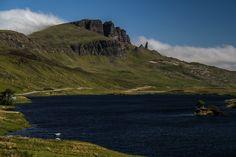 the Old Man of Storr Skye Loch Fada 4