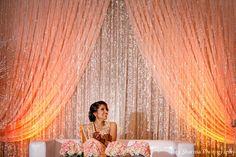 indian wedding bride reception decor portrait http://maharaniweddings.com/gallery/photo/10965