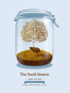 The Swell Season concert poster