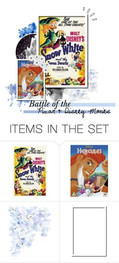 """""""Battle of the Pixar & Disney Movies"""" by frozendecembermoon ❤ liked on Polyvore featuring art"""