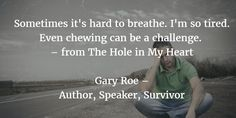 Exhausted from grief? Check out this free e-book http://www.garyroe.com/theholeinmyheart
