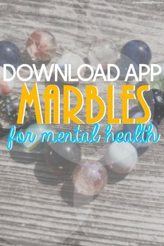 I love the convenience and reliability of having apps about mental health on my phone. Here are 3 reasons why you should download the new app, Marbles.