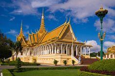 Circuit au Cambodge. Palais royal CAMBODGE