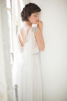 Bohemian wedding dress // Jasmine