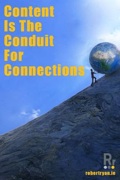 Content is the conduit for connections and without regular publishing your efforts for online success will be hamstrung - find out why now!