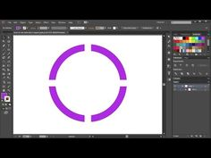 How to Cut a Circle into 4 Equal Parts in Adobe Illustrator Adobe Illustrator Tutorials, Photoshop Illustrator, Adobe Illistrator, Branding, Good Tutorials, Graphic Design Tutorials, Grafik Design, Vector Design, Creations