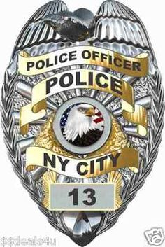Custom Police Badge Cop Cornhole Board Game~~
