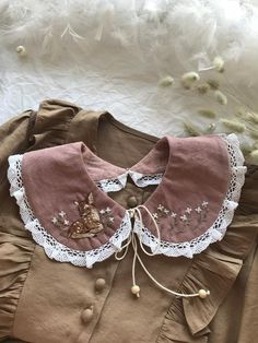Made of cotton velvet ⠀⠀ ⠀ • Embroidery Bambi ❤️⠀ ⠀ • The length on the inner circumference is 40-45cm. ⠀ ⠀ In stock ❤️ Free shipping 🌍 Filles Alternatives, Daisy Necklace, Peter Pan, Diy Clothes, Girl Fashion, Style Inspiration, Couture, Embroidery, My Style
