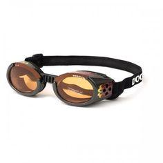 Interchangeable Lens Racing Flames/Orange Dog Goggles – Bark Label